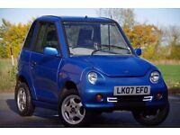 Reva G-Wiz Electric Car New Upgraded 260Ah Batteries,Daytime Running Lights,Tablet & Software, MOT