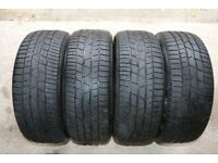 4 x 'Continental' Winter Tyres 215/55/R17