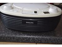 PHILIPS CD IPOD DOCK RADIO MP3 PAYER