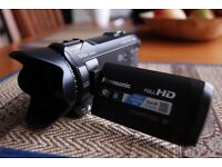 Panasonic HC-V750 Full HD, Wi-Fi, Optical zoom x20, Dolby Digital 5.1