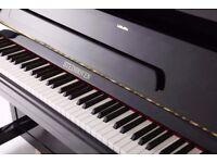 Steinhoven High Gloss Black Upright Piano