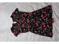 Playsuit, size 8, from Atmosphere, floral
