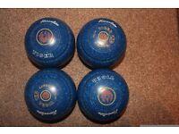 Henselite Size 4 Tiger Bowls