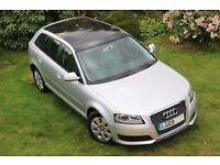 Audi A3 1.4TFSI Sportback - Full panoramic sunroof - LOW MILEAGE