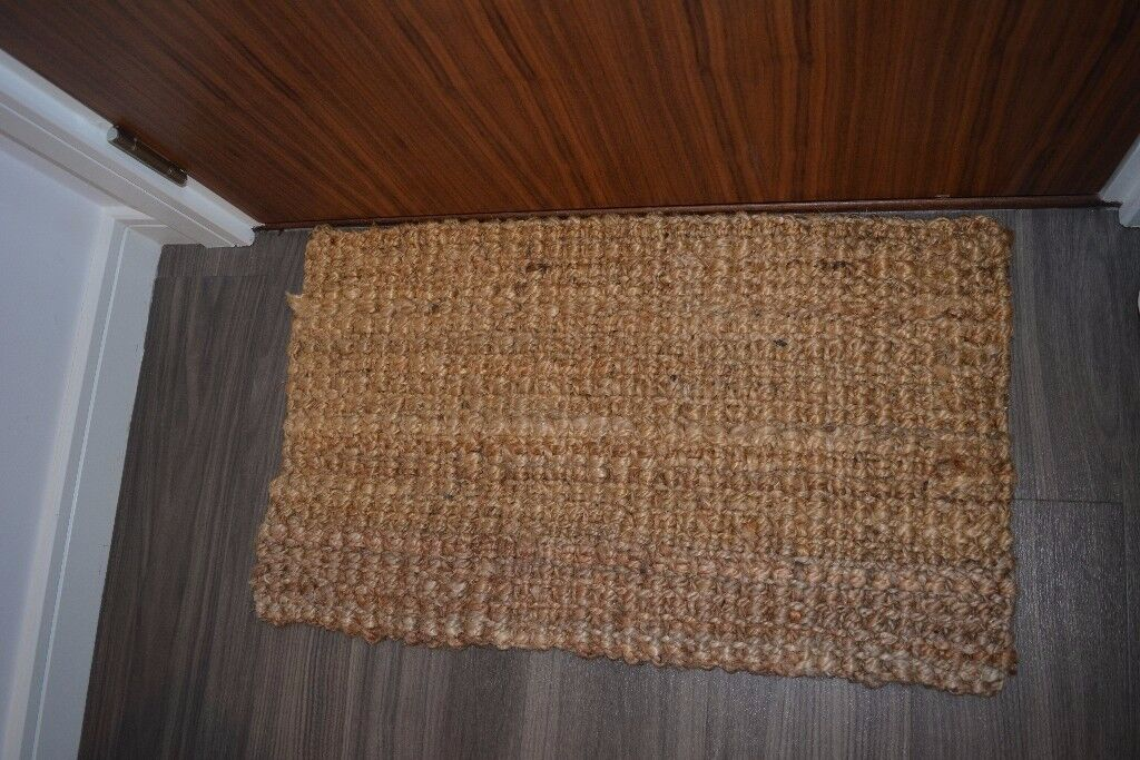 Natural Chunky Textured Door Mat