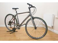 MENS/LADIES TREK 7.2FX HYBRID BIKE FULLY SERVICED WITH NEW PUNCTURE PROOF QUALITY TYRES 20INCH FRAME
