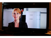"""Samsung 32"""" LED TV 1080p HD with Freeview HD UE32EH5000 - Fully working- Can Deliver"""
