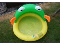Baby pool with sunshade. Like new as only used once.