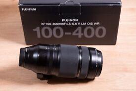 SWAP Fujifilm XF100-400 with X100F (Fujinon XF 100-400mm)