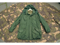 Customized Vintage Dutch Army M53 Field Jacket/Parka with Wool Liner +Hood