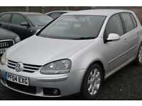 VOLKSWAGEN GOLF 2.0 GT TDI 140 6 SPEED MANUAL 5 DOOR