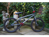 "Used 20"" Freestyle BMX Bike Grey/Red"