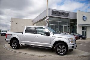 2015 Ford F-150 4x4 - Supercrew XLT - 100% Accident Free!!
