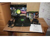 XBOX (Original) - Limited Edition + Games