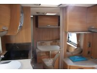 Swift Charisma 545 2010 4 Berth Caravan + Motor Movers (Rare Layout)