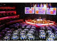 Host/Hostess for rhubarb at the Royal Albert Hall
