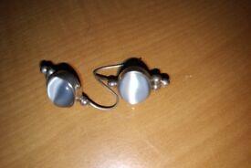 Beautiful sterling silver earrings and bracelet