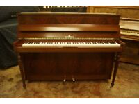 Stunning Steinberg upright piano in pyramid mahogany - Tuned & UK delivery available