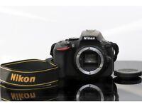 Nikon D5500, 24MP DSLR Camera