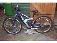 "Child's Bike with 24"" wheels"