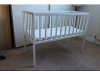 Kiddicare Dream White Crib