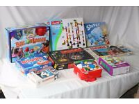 9 boxed games from smoke/pet free home.