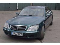 Mercedes Benz S Class 5.0 S500 Limousine 4dr, New Mot, No advisories £1700