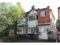 Three bed semi-detached house drive two cars 2 reception extended kitchen patio to garden decking