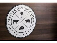 Foodie Supervisor Wanted For British Cheese & Charcuterie Shop