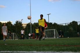 PLAY football in HOXTON STATION friday at Haggerston E2 8NH
