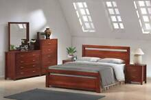 BEVERLY 4 PCE KING BEDROOM SUITE (BED FRAME WITHOUT DRAWERS) Wangara Wanneroo Area Preview