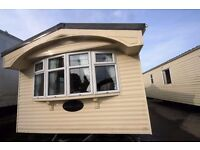 LUXURY STATIC CARAVAN FOR SALE- DOUBLE GLAZED AND CENTRAL HEATED- 2 BED