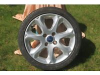 Ford Achilles Sports low profile wheel and tyre in very good condition.