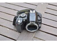 Nikon D3100 14.2MP Digital SLR Camera - Black (Body only) Digital Camera