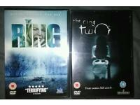 The ring and ring 2 DVD.