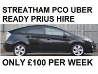 PCO PRIUS RENTALS / HIRE * SOUTH LONDON* FROM £100 P/W
