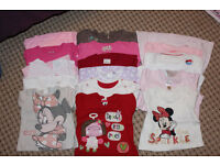 LARGE BUNDLE OF BABY GIRL CLOTHES 6-12