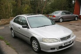 2000 Honda Accord i-VTEC SE 1.8 Petrol Auto Hatchback, 113K, Silver, Great condition for year