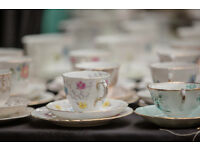 Vintage China tea party wedding