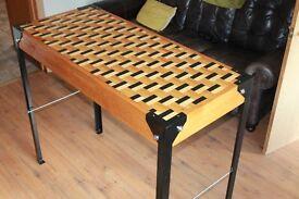 Hand built table, bar/breakfast bar table