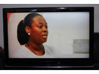 """37"""" WHARFEDALE LTF37K1CB HD LCD TV WITH BUILT IN FREE VIEW IN GREAT CONDITION."""