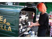 Piaggio Ape Coffee Van for Sale