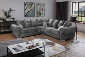 XMAS SALE ON BRAND NEW VERONA SOFA**TOP QUALITY SOFA**GREY COLOUR