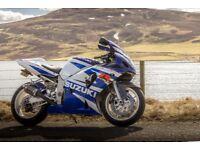 Suzuki GSXR 600 Sportsbike K1 GSXR600