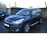 Citroen C-Crosser 2.2 HDi Exclusive 5dr / Diesel/ 7 Seats / 4X4 / MOT Nov 2018