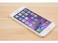 iPhone 6 128gb Unlocked Silver - Excellent Condition