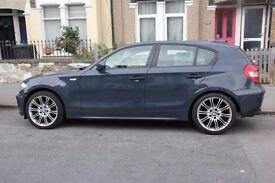 BMW 1 Series Excellent condition 2006 rare grey colour MOT service £2900