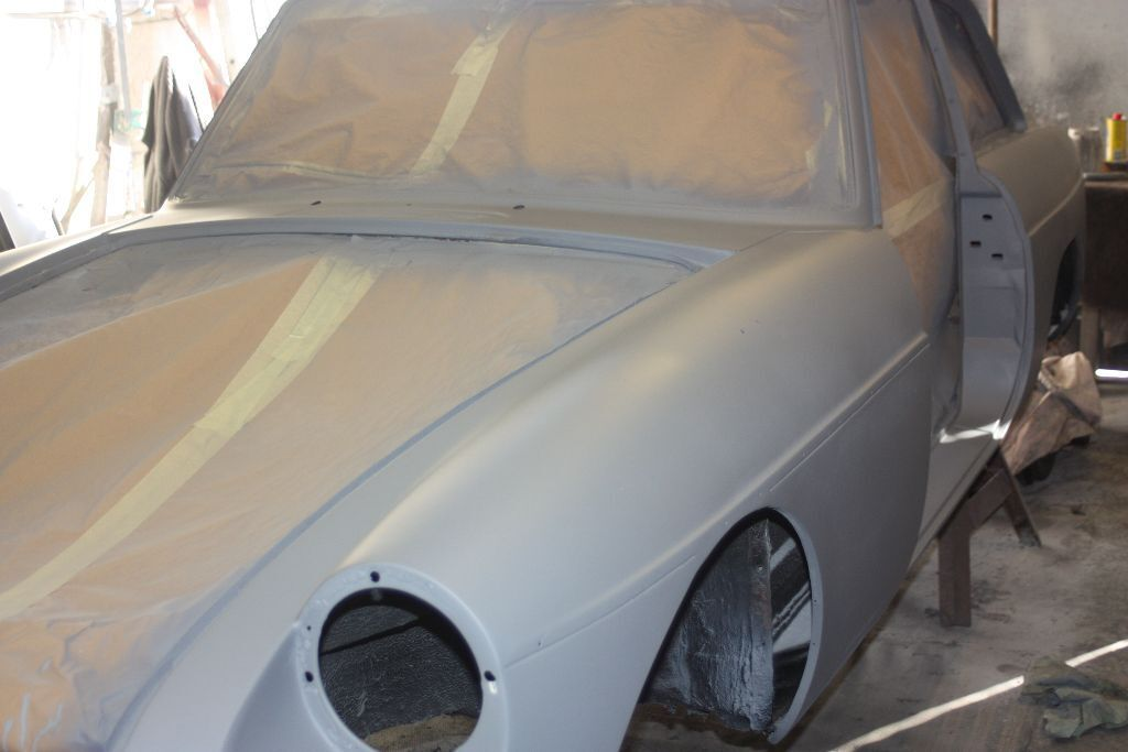 MGB GT 1972 unfinished project | in Lymington, Hampshire | Gumtree