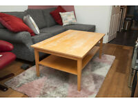 Large Ikea coffee table - solid wood