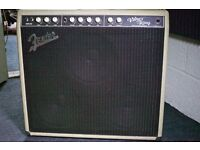 Fender 'Vibro King' guitar amp, serial number 0003